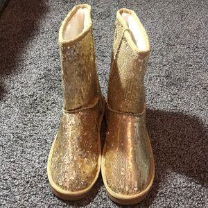 Arizona Glitter Boots Size 8